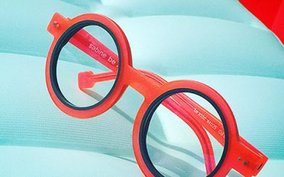 SABINE BE: The most original glasses of the moment